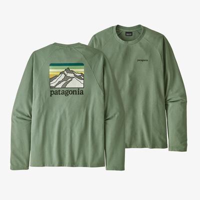 Line Logo Ridge Lightweight Crew Sweatshirt - Men