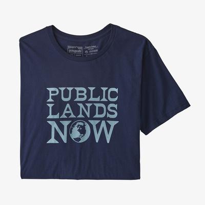 Public Lands Now Organic T-Shirt - Men