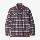 M's Long-Sleeved Fjord Flannel Shirt - Observer: Tasmanian Teal (OBTT)