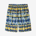 Boys' Baggies™ Shorts - Woodblock Circles: Big Sky Blue (WOBY)