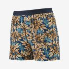 M's Essential Boxers - Hevea Leaves: Superior Blue (HLSB)