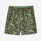 Baby Baggies™ Shorts, Alligators and Bullfrogs: Kale Green (ABKG)