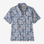 M's Pataloha® Shirt, Hawaiian Cotton: Berlin Blue (HCBE)