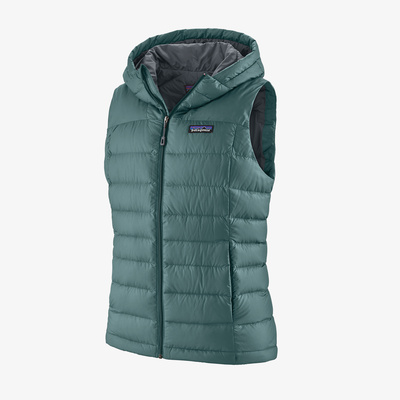 Hi-Loft Down Hooded Vest - Women