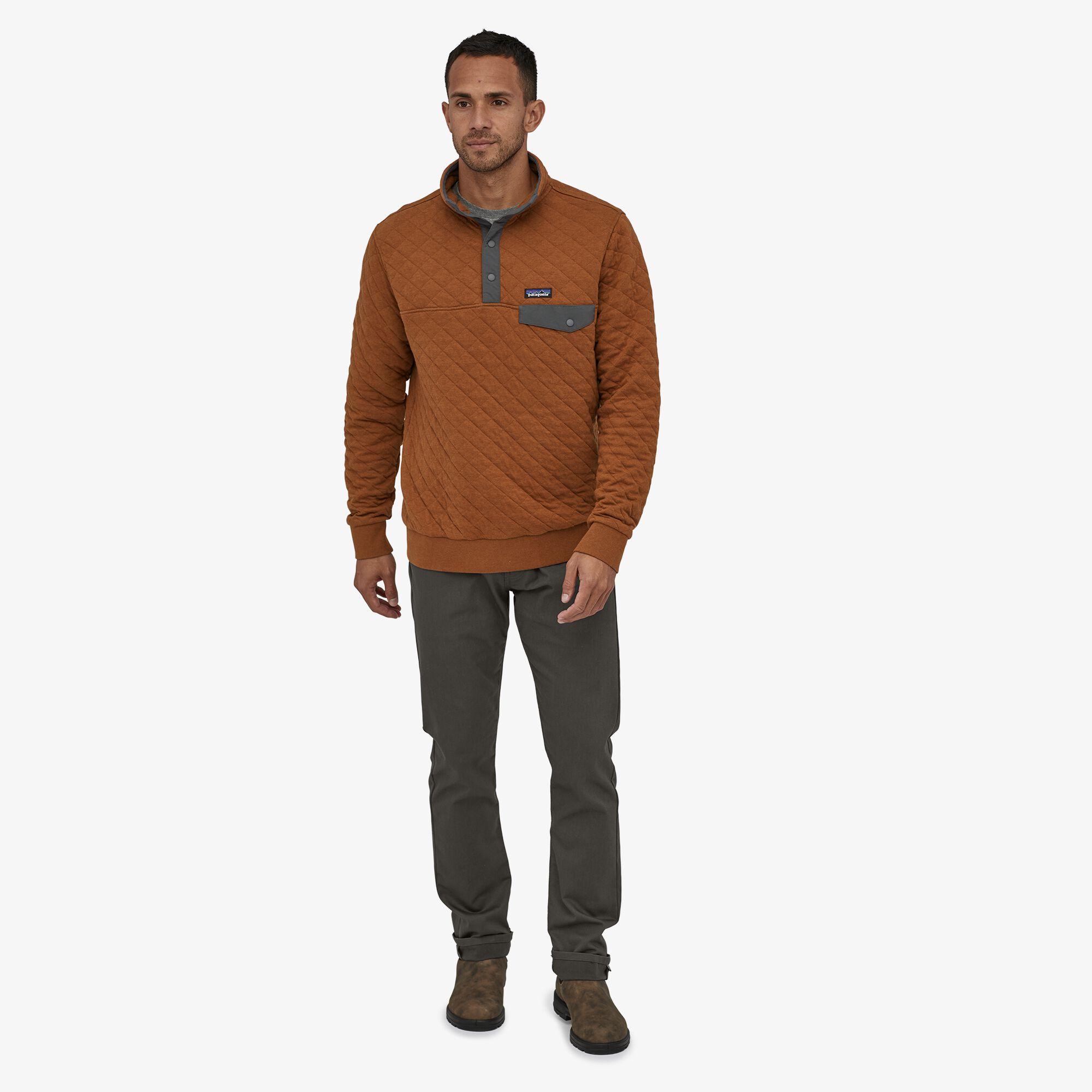 Patagonia Men S Organic Cotton Quilt Snap T 174 Pullover