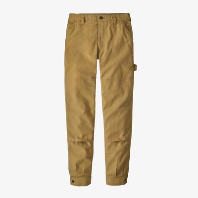 All Seasons Hemp Canvas Double Knee Pants - Regular - Women