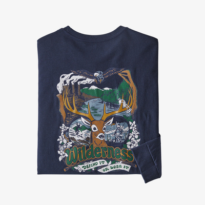 Long-Sleeved Yes To Wilderness Responsibili-Tee(R) - Men