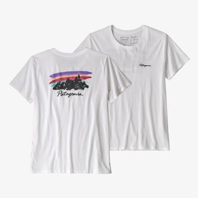 Free Hand Fitz Roy Organic Crew T-Shirt - Women