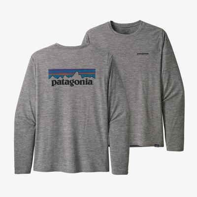Long-Sleeved Capilene(R) Cool Daily Graphic Shirt - Men