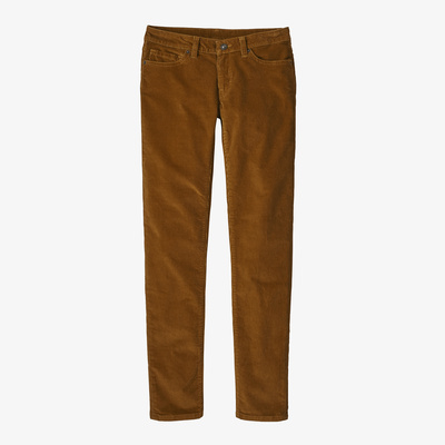 Fitted Corduroy Pants - Women