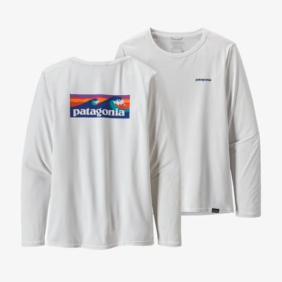 Long-Sleeved Capilene(R) Cool Daily Graphic Shirt - Women