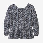 W's Shallow Moon Top, Mountain Cranberry: New Navy (MCNN)
