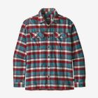 M's Long-Sleeved Fjord Flannel Shirt, Observer: Tasmanian Teal (OBTT)