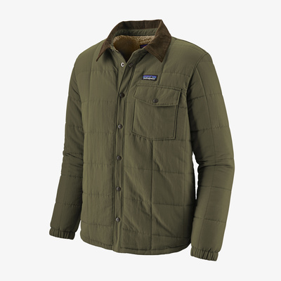 Isthmus Quilted Shirt Jacket - Men