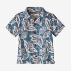 Baby Pataloha® Shirt, Hawaiian Cotton: Berlin Blue (HCBE)