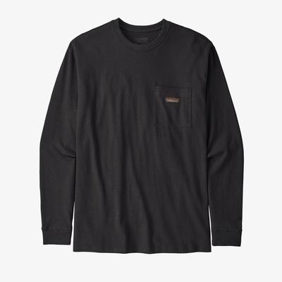 Long-Sleeved Work Pocket T-Shirt - Men