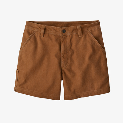 "All Seasons Hemp Canvas Shorts - 5"" - Women"
