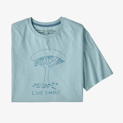 Live Simply(R) Midleaf Crisis Organic T-Shirt - Men