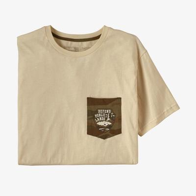 Defend Public Lands Organic Pocket T-Shirt - Men