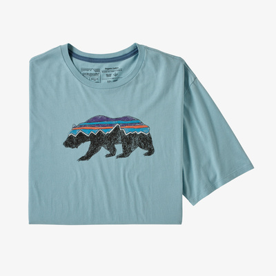 Fitz Roy Bear Organic T-Shirt - Men