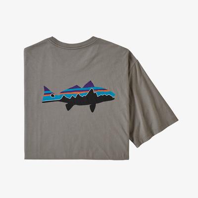 Fitz Roy Fish Organic T-Shirt - Men