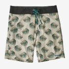 "M's Stretch Planing Boardshorts - 19"", Palms of My Heart: Dyno White (PHDW)"