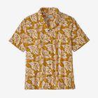 M's Pataloha® Shirt, Hawaiian Cotton: Grain Gold (HCGO)