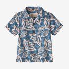Baby Pataloha® Shirt, Hawaiian Cotton: Berlin Blue (HCBE)