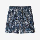 "Boys' Baggies™ Shorts - 5"" - Bushwhack Batik: New Navy (BUNN)"