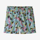 "M's Baggies™ Shorts - 5"" - Spoonbills: Big Sky Blue (SPBG)"