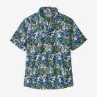 M's Pataloha® Pullover Shirt - Hevea Branches: White Wash (HVBW)