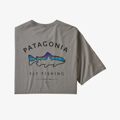 Framed Fitz Roy Trout Organic T-Shirt - Men
