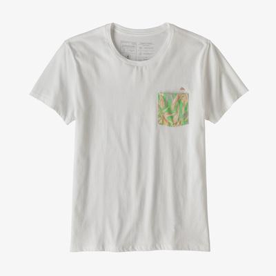 Flying Fish Organic Pocket T-Shirt - Women