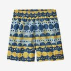 "Boys' Baggies™ Shorts - 5"", Woodblock Circles: Big Sky Blue (WOBY)"