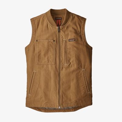 All Seasons Hemp Canvas Vest - Men