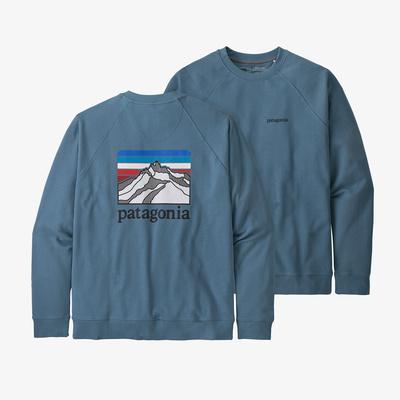 Line Logo Ridge Organic Crew Sweatshirt - Men