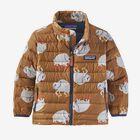 Baby Down Sweater, Let's Regenerate: Mulch Brown (LRMB)