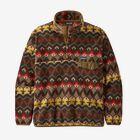 M's Lightweight Synchilla® Snap-T® Pullover, Companions Big: Logwood Brown (CBLB)
