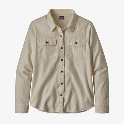 Long-Sleeved Fjord Flannel Shirt - Women