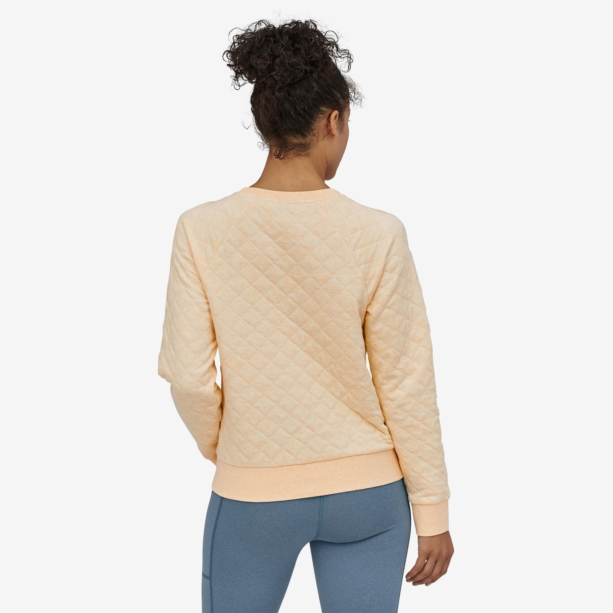 Patagonia Women S Organic Cotton Quilt Crew Sweatshirt