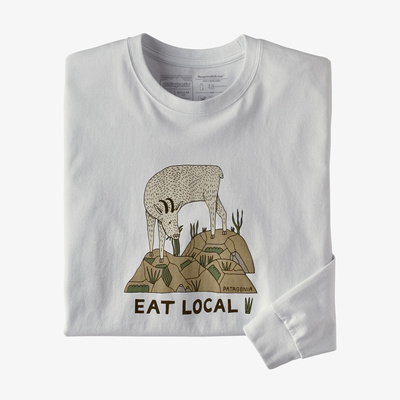 Long-Sleeved Eat Local Goat Responsibili-Tee(R) - Men