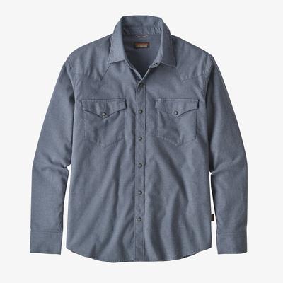 Long-Sleeved Western Snap Shirt - Men