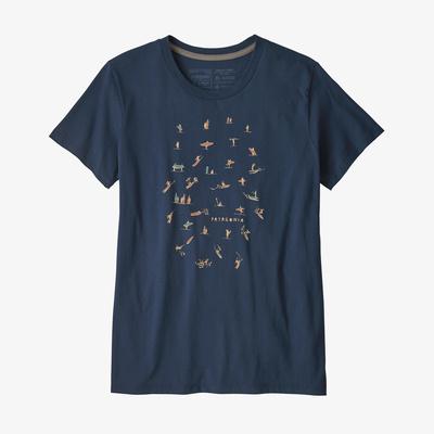Paddle Pack Organic Crew T-Shirt - Women