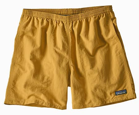 Yellow Patagonia Baggies