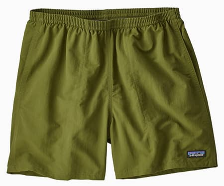 Green Patagonia Baggies