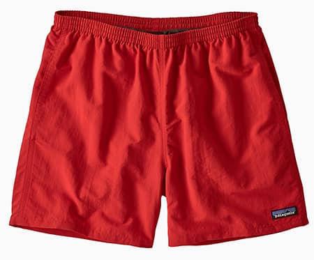 Red Patagonia Baggies