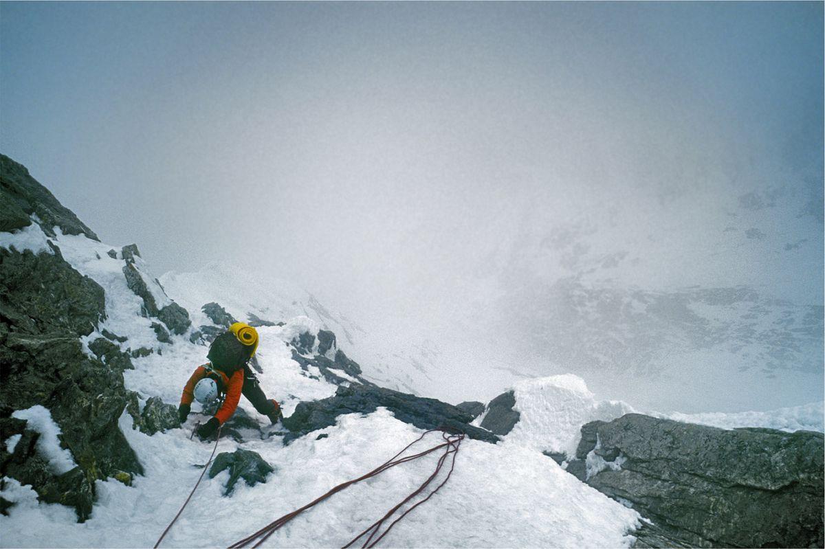 Ascent up the Nanga Parbat.