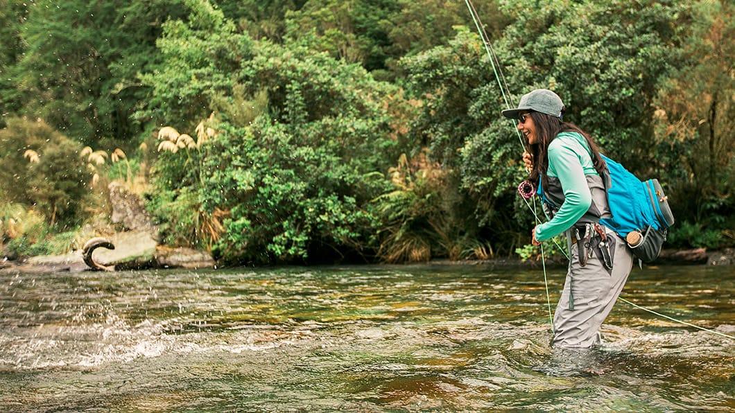 Women's Fly Fishing