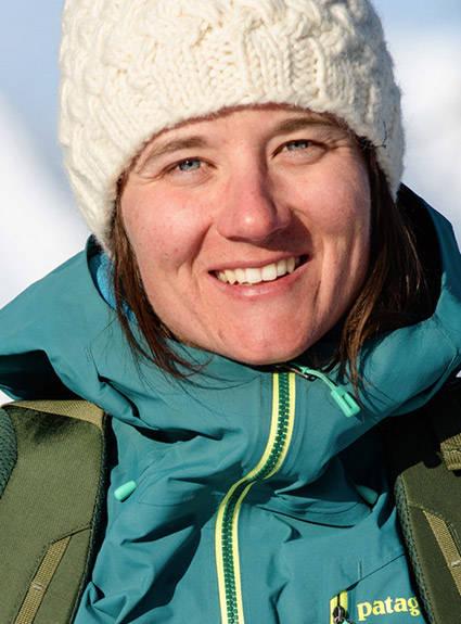 Patagonia Skiing Ambassador Leah Evans