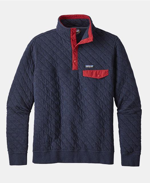 Men's Cotton Quilt Snap-T® Pullover